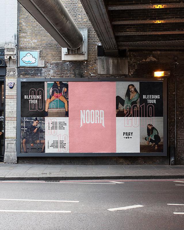 NOORA-Wall-Poster-Brand-Identity-Design